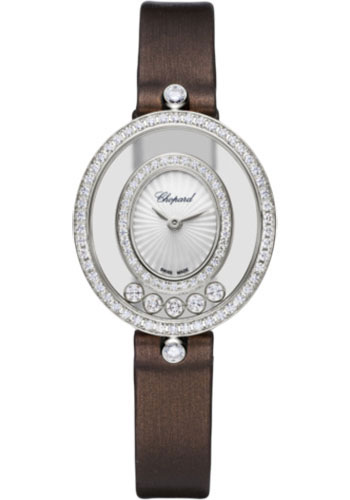 Chopard Watches - Happy Diamonds Icons - 25.80mm - White Gold - Style No: 204292-1301