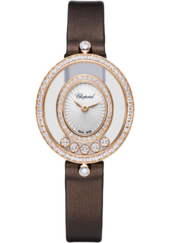 Chopard Watches - Happy Diamonds Icons - 25.80mm - Rose Gold - Style No: 204292-5301