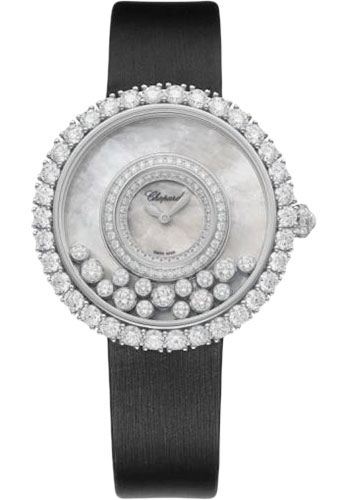 Chopard Watches - Happy Diamonds Joaillerie - 37.70mm - White Gold - Style No: 204445-1001