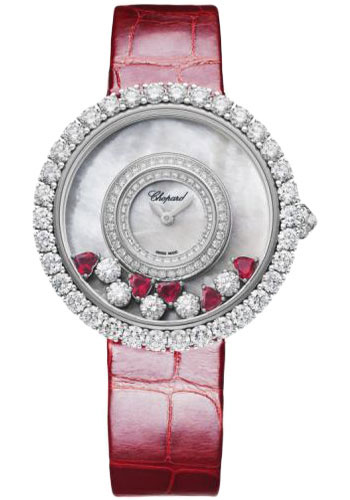Chopard Watches - Happy Diamonds Joaillerie - 37.70mm - White Gold - Style No: 204445-1006