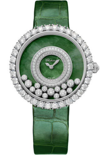 Chopard Watches - Happy Diamonds Joaillerie - 37.70mm - White Gold - Style No: 204445-1009