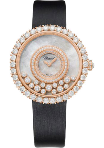 Chopard Watches - Happy Diamonds Joaillerie - 37.70mm - Rose Gold - Style No: 204445-5001