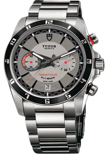 Tudor Watches - Grantour Chrono Fly-Back Stainless Steel - Bracelet - Style No: 20550N-95730-silver