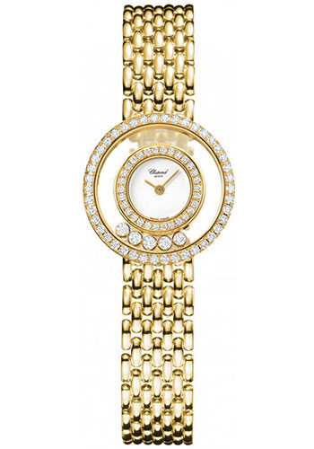 Chopard Watches - Happy Diamonds Classic - 23mm - Yellow Gold - Style No: 205691-0001