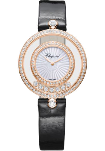 Chopard Watches - Happy Diamonds Icons - 32mm - Rose Gold - Style No: 209426-5201