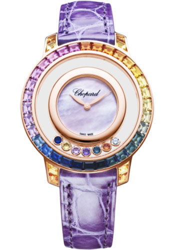 Chopard Watches - Happy Diamonds Joaillerie - 35.50mm - Rose Gold - Style No: 20a002-5901