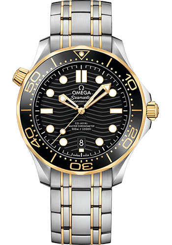 Omega Watches - Seamaster Diver 300M Co-Axial Master 42 mm - Steel And Yellow Gold - Style No: 210.20.42.20.01.002
