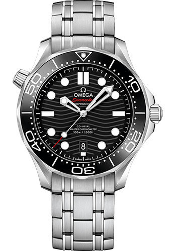 Omega Watches - Seamaster Diver 300M Co-Axial Master 42 mm - Stainless Steel - Style No: 210.30.42.20.01.001