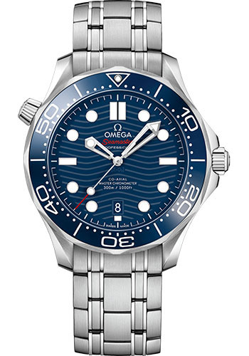 Omega Watches - Seamaster Diver 300M Co-Axial Master 42 mm - Stainless Steel - Style No: 210.30.42.20.03.001