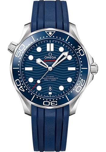 Omega Watches - Seamaster Diver 300M Co-Axial Master 42 mm - Stainless Steel - Style No: 210.32.42.20.03.001