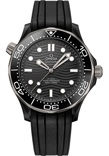 Omega Watches - Seamaster Diver 300M Co-Axial Master 43.5 mm - Black Ceramic - Style No: 210.92.44.20.01.001
