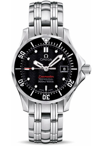 Omega Watches - Seamaster Diver 300 M Quartz 28 mm - Stainless Steel - Style No: 212.30.28.61.01.001