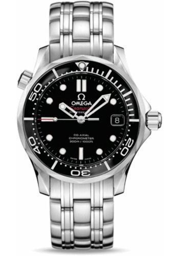 Omega Watches - Seamaster Diver 300M Co-Axial 36.25 mm - Stainless Steel - Style No: 212.30.36.20.01.002