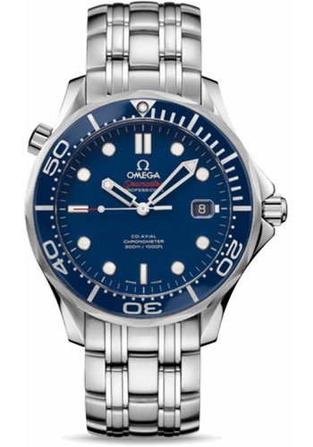 Omega Watches - Seamaster Diver 300 M Co-Axial 41 mm - Stainless Steel - Style No: 212.30.41.20.03.001