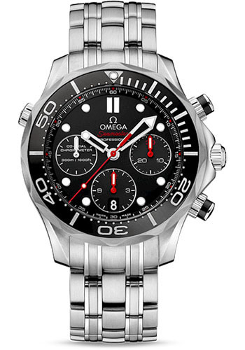 Omega Watches - Seamaster Diver 300M Co-Axial Chronograph 44 mm - Style No: 212.30.44.50.01.001