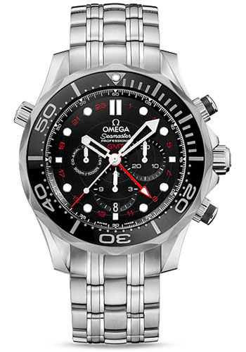 Omega Watches - Seamaster Diver 300 M Co-Axial Chronograph 44 mm - Style No: 212.30.44.52.01.001