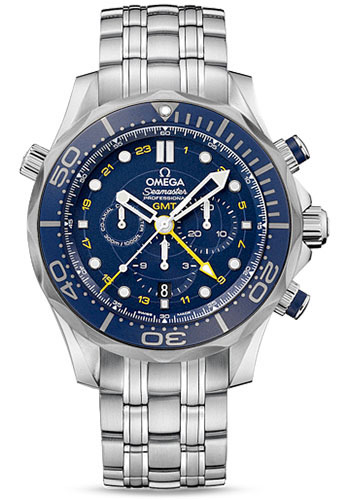 Omega Watches - Seamaster Diver 300 M Co-Axial Chronograph 44 mm - Style No: 212.30.44.52.03.001