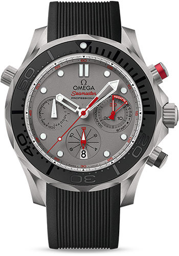 Omega Watches - Seamaster Diver 300 M Co-Axial Chronograph 44 mm - Style No: 212.92.44.50.99.001