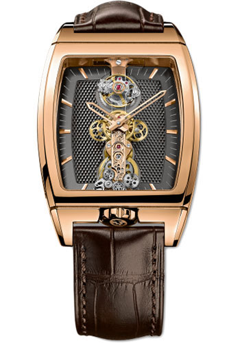 Corum Watches - Golden Bridge Tourbillon 34 x 51 mm - Red Gold - Style No: B213/01038 - 213.150.55/0002 GK12