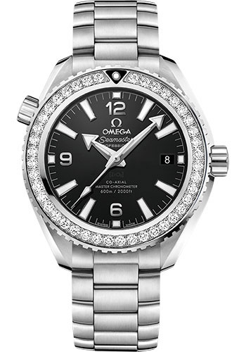 Omega Watches - Seamaster Planet Ocean 600M Co-Axial Master 39.5 mm - Stainless Steel - Bracelet - Style No: 215.15.40.20.01.001