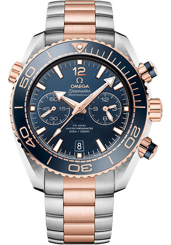 Omega Watches - Seamaster Planet Ocean 600 M Master Co-Axial Chronograph 45.5 mm - Sedna Gold on Steel - Style No: 215.20.46.51.03.001