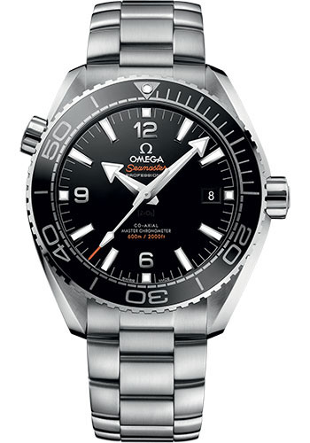 Omega Watches - Seamaster Planet Ocean 600 M Master Co-Axial 43.5 mm - Stainless Steel - Style No: 215.30.44.21.01.001