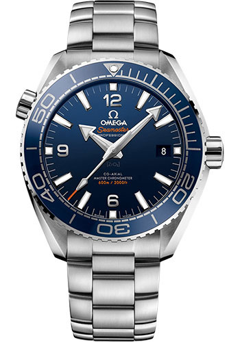 Omega Watches - Seamaster Planet Ocean 600 M Master Co-Axial 43.5 mm - Stainless Steel - Style No: 215.30.44.21.03.001