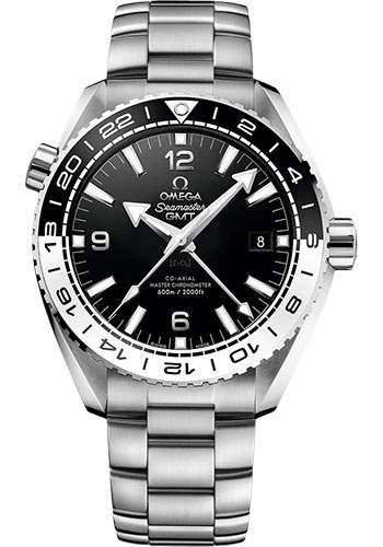 Omega Watches - Seamaster Planet Ocean 600M Co-Axial Master GMT 43.5 mm - Stainless Steel - Style No: 215.30.44.22.01.001