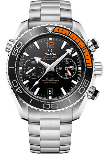 Omega Watches - Seamaster Planet Ocean 600 M Master Co-Axial Chronograph 45.5 mm - Stainless Steel - Style No: 215.30.46.51.01.002