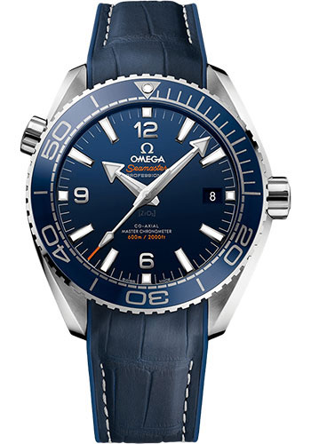 Omega Watches - Seamaster Planet Ocean 600 M Master Co-Axial 43.5 mm - Stainless Steel - Style No: 215.33.44.21.03.001