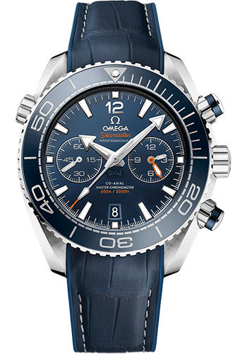 Omega Watches - Seamaster Planet Ocean 600 M Master Co-Axial Chronograph 45.5 mm - Stainless Steel - Style No: 215.33.46.51.03.001