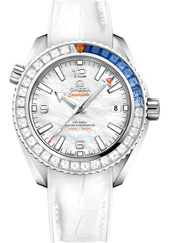 Omega Watches - Seamaster Planet Ocean 600 M Master Co-Axial 39.5 mm - White Gold - Style No: 215.58.40.20.05.001
