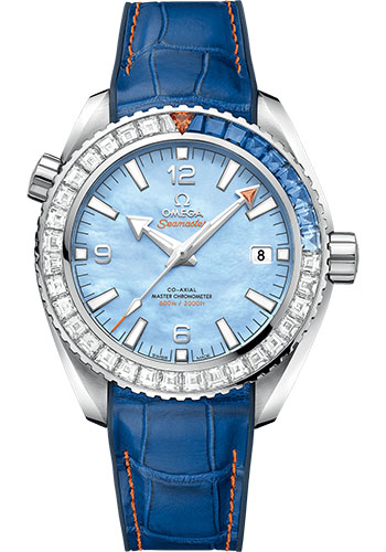 Omega Watches - Seamaster Planet Ocean 600M Co-Axial Master 43.5 mm - White Gold - Style No: 215.58.44.21.07.001
