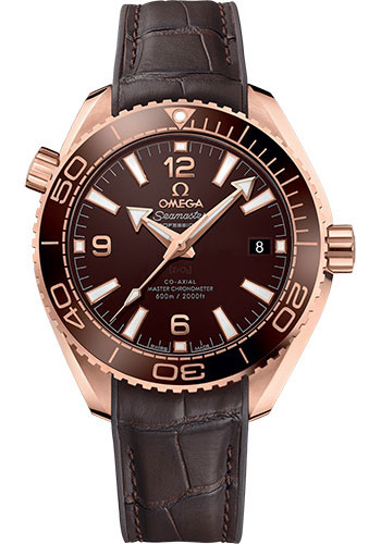 Omega Watches - Seamaster Planet Ocean 600M Co-Axial Master 39.5 mm - Sedna Gold - Style No: 215.63.40.20.13.001