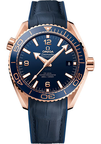 Omega Watches - Seamaster Planet Ocean 600 M Master Co-Axial 43.5 mm - Sedna Gold - Style No: 215.63.44.21.03.001