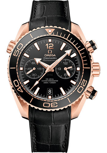 Omega Watches - Seamaster Planet Ocean 600 M Master Co-Axial Chronograph 45.5 mm - Sedna Gold - Style No: 215.63.46.51.01.001