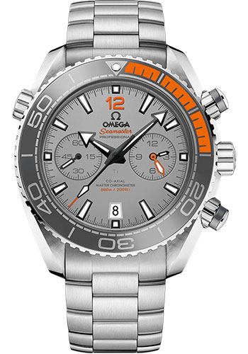 Omega Watches - Seamaster Planet Ocean 600M Co-Axial Master Chronograph 45.5 mm - Titanium - Style No: 215.90.46.51.99.001