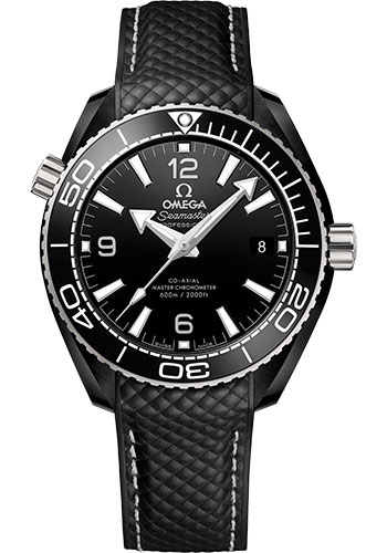 Omega Watches - Seamaster Planet Ocean 600M Co-Axial Master 39.5 mm - Black Ceramic - Style No: 215.92.40.20.01.001