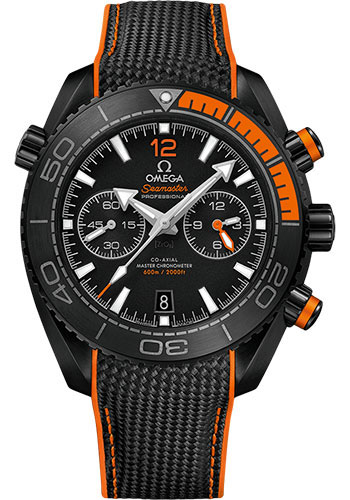 Omega Watches - Seamaster Planet Ocean 600 M Master Co-Axial Chronograph 45.5 mm - Deep Black Ceramic - Style No: 215.92.46.51.01.001