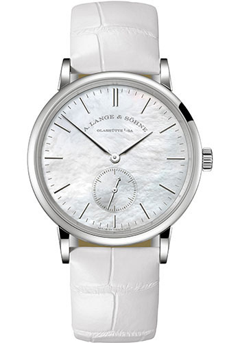 A. Lange & Sohne Watches - Saxonia White Gold - Style No: 219.047