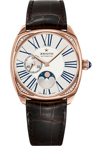 Zenith Watches - Star Moonphase Rose Gold - Style No: 22.1925.692/01.C725