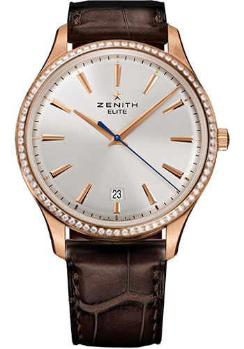 Zenith Watches - Captain Central Second Rose Gold - Style No: 22.2020.670/01.C498