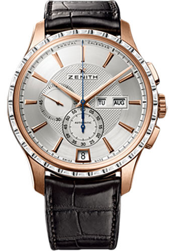 Zenith Watches - Captain Winsor Rose Gold - Style No: 22.2070.4054/02.C711