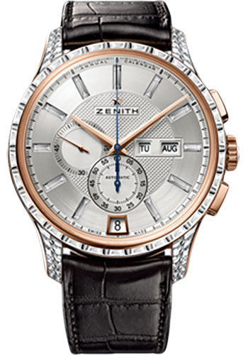 Zenith Watches - Captain Winsor Rose Gold - Style No: 22.2071.4054/03.C711