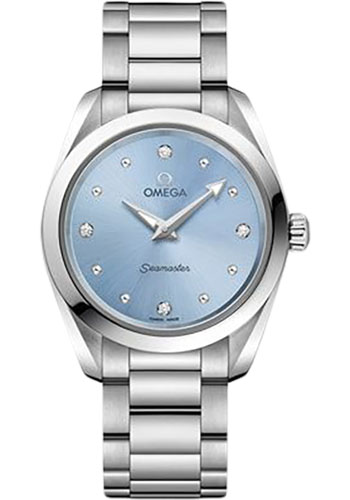 Omega Watches - Seamaster Aqua Terra 150M Quartz 28 mm - Style No: 220.10.28.60.53.001