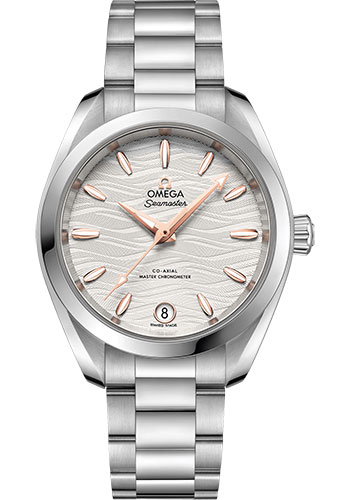 Omega Watches - Seamaster Aqua Terra 150M Co-Axial Master 34 mm - Stainless Steel - Style No: 220.10.34.20.02.001