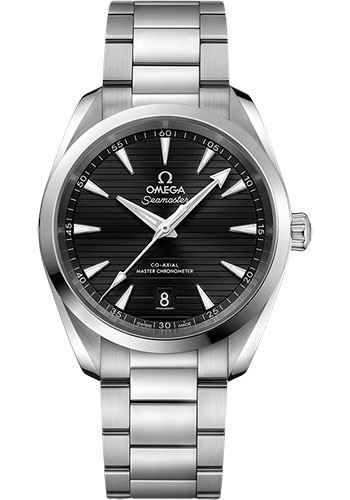 Omega Watches - Seamaster Aqua Terra 150M Master Co-Axial 38 mm - Stainless Steel - Bracelet - Style No: 220.10.38.20.01.001