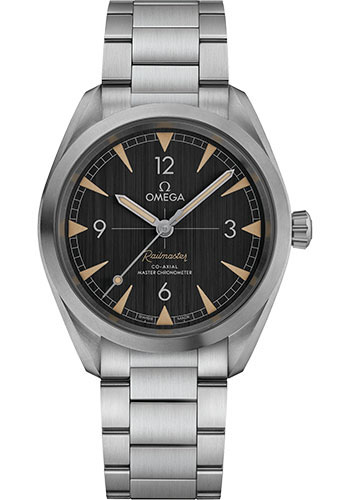 Omega Watches - Seamaster Railmaster 40 mm - Stainless Steel - Bracelet - Style No: 220.10.40.20.01.001