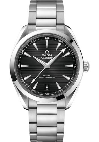 Omega Watches - Seamaster Aqua Terra 150M Master Co-Axial 41 mm - Stainless Steel - Bracelet - Style No: 220.10.41.21.01.001