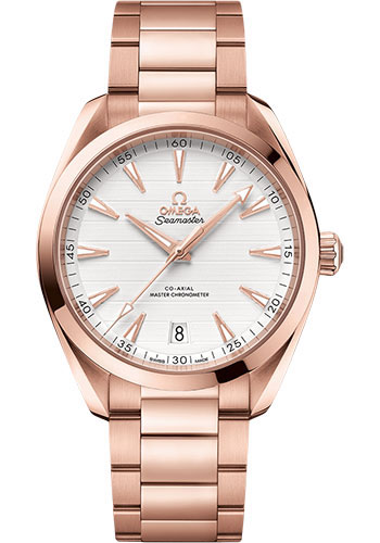 Omega Watches - Seamaster Aqua Terra 150M Master Co-Axial 41 mm - Sedna Gold - Style No: 220.50.41.21.02.001